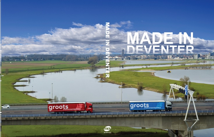 Textcase over haar internationale activiteiten in het boek 'Made in Deventer'