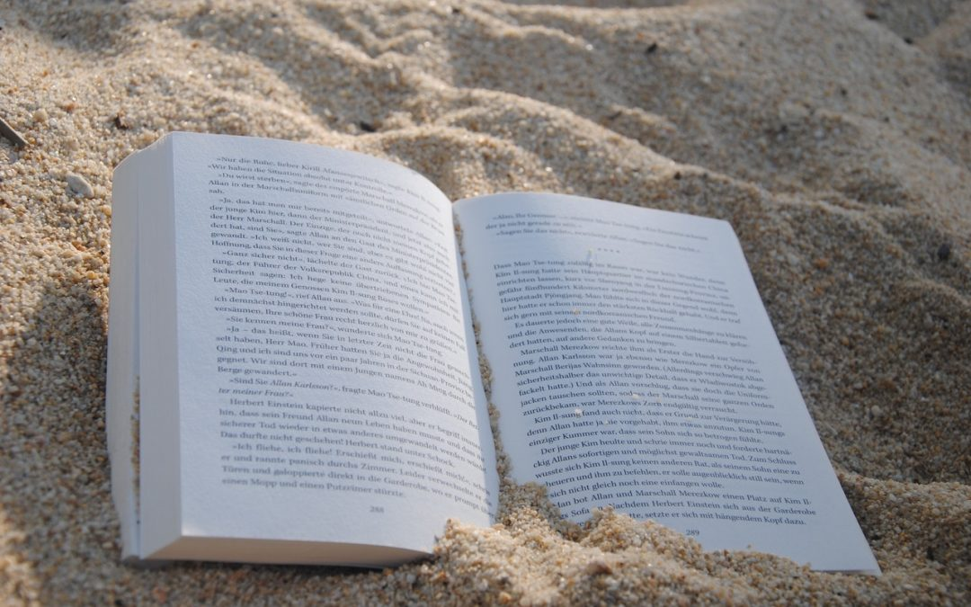 Spannend boek populair tijdens vakantie